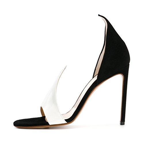 Fsj Donna Versatile Dorsay Tacchi Alti Sandalo Slide Open Open Slide Toe Tacchi   96e223