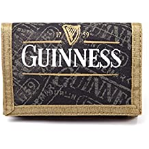 Guinness Wallet Classic Logo Pure Genius Official Fabric Tri Fold