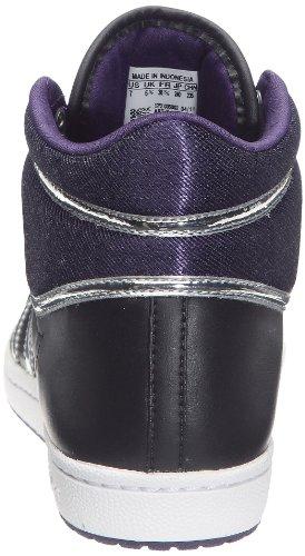 Ten Sleek argent Hi Zapatillas Métallique W aubergine Noir1 Adidas Mujer Top 5qHn4xP