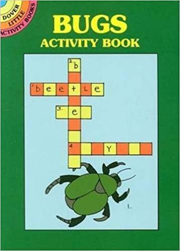 Book Bugs Activity Book (Dover Little Activity Books) by Winky Adam (2000-03-21)