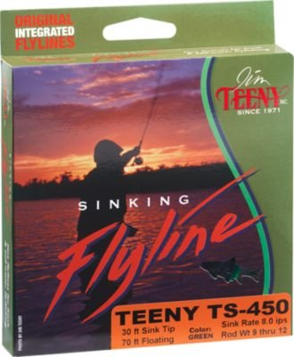 Jim Teeny TS-350 30' Sink Tip with 70' Floating Line