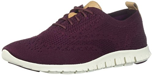 Cole Haan Women's Zerogrand Stitchlite Closed Oxford, Malbec, 10 B US by Cole Haan (Image #1)