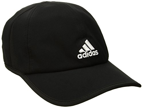(adidas Men's Adizero II Cap, Black/White, One Size)