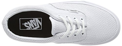 Perf Unisex Era Vans Leather White True Classic Zapatillas Canvas White Adulto wZ0dnqgIx