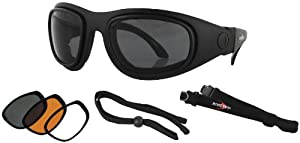 Bobster Eyewear Sport and Street II Goggles/Sunglasses BSSA201AC