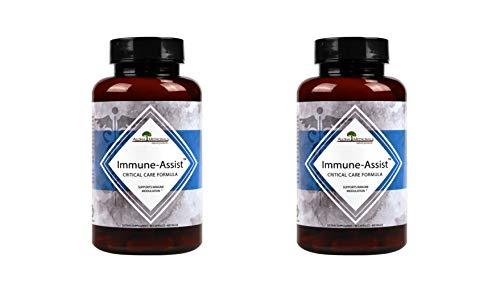 Aloha Medicinals - Immune Assist Critical Care Formula - Organic Mushrooms - Cordyceps sinensis, Agaricus Blazei, Lentinula edodes, Grifola frondosa, Ganoderma lucidum, Coriolus versicolor (2 - Assist Immune