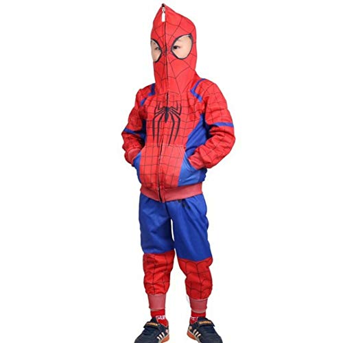 Kids Toddler Spider-Verse Miles Morales Gwen Stacy Noir Peter Parker Hoodie Jacket Sweatshirt Costume Sets -