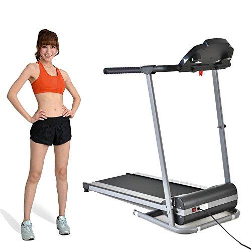 500W 60Hz Vest-pocket Electric Motorized Treadmill Running Gym Fitness Machine