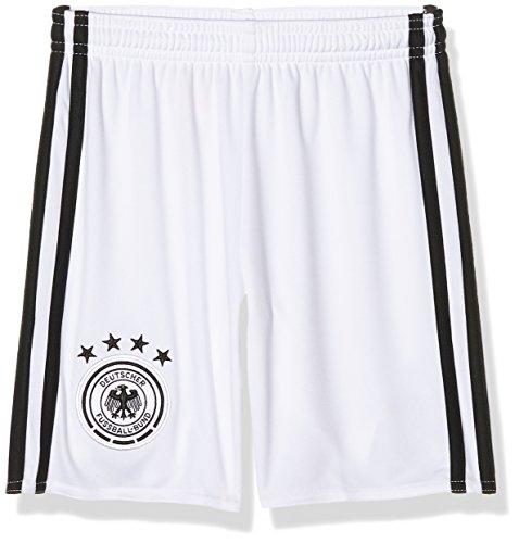 adidas Jungen Fußball/Heim-shorts UEFA Euro 2016 DFB Torwart Replica, White/Black, 140, AA0131