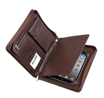 Xiaozhi - Cartera portadocumentos de piel con funda para iPad Mini: Amazon.es: Oficina y papelería
