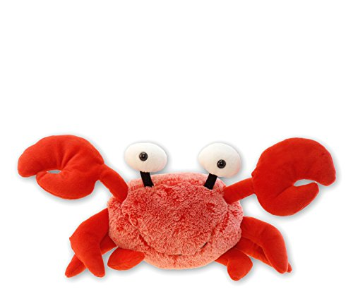 Puzzled Super Soft Red Crab Plush, 12