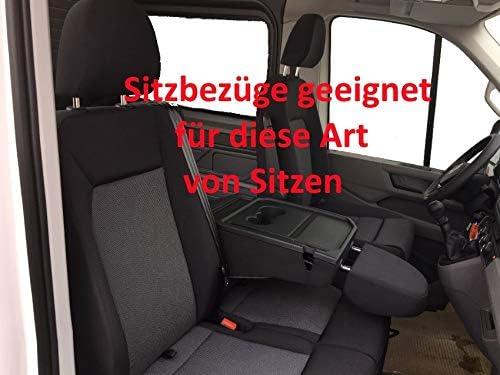 Sitzbez/üge Hero Passgenau geeignet f/ür Man TGE ab 2017-1+2