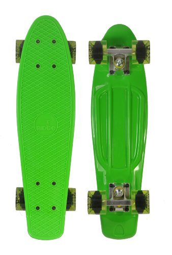 Ridge Skateboards 27 Inch Big Brother Retro Cruiser Skateboard - UK Manufactured