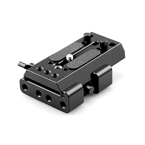 SmallRig Rapid Connect Adapter with Sliding Mounting Plate for Manfrotto 501PL Plate, 501P LONG Plate - (Rapid Connect Mounting Plate)