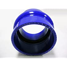 """OBX 100% Pure Silicone Coupler 3.0"""" with Hump 2 per pack Blue"""