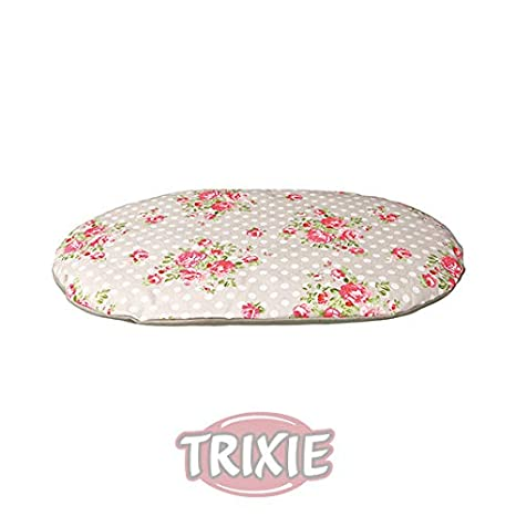 New Vintage - Kitch inspirado Rose - Funda de cojín, diseño, Classic nuevo cojín cama para perros de Trixie en varios tamaños: Amazon.es: Productos para ...