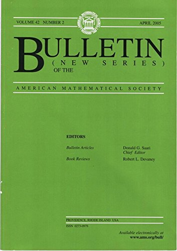 Bulletin of the American Mathematical Society (New Series): Volume 42, Number 2, April 2005