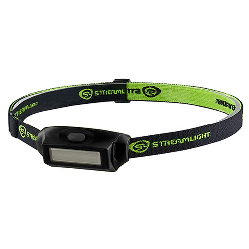 Streamlight, Bandit Pro Ultra Compact Low Profile Headlamp, USB Rechargeable, Black, Clam Package