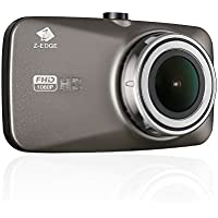 Z-EDGE Dash Cam, Dashboard Camera Recorder with Sony Exmor Sensor, FHD 1080P, 2.7 LCD Screen, 150 Degree Wide Angle, HDR, G-Sensor, Parking Monitor, Loop Recording