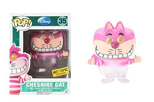Funko - Figurine Disney - Cheshire Cat See Through Exclu Hot Topic Pop 10cm - 0849803048488