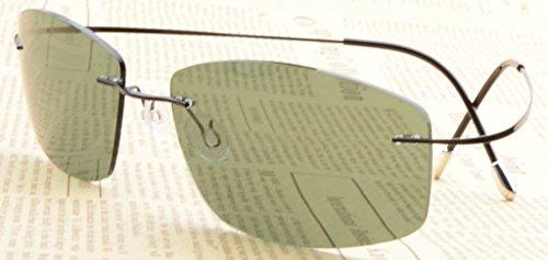 Eyekepper de de Gamme Protection Haut UV Lunettes Soleil Noir Vert 400 Polarisees Titane en S1504 wwrvqR