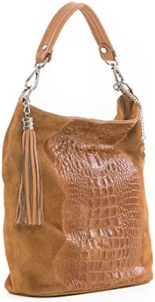 Mia Tomazzi - - WB111256-CUOIO (26) - marron - 239EUR - Handbag - Handcrafted in Italy