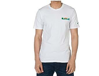 Nike Men's Lebron QT White Tee (Medium)