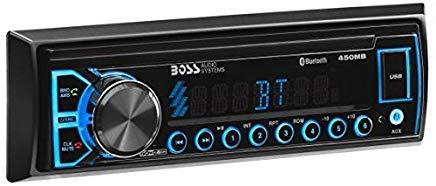 BOSS Audio Elite 450MB Multimedia Car Stereo - Single Din, (No CD/DVD Player) MP3, USB Port, AUX Input, AM/FM Radio Receiver