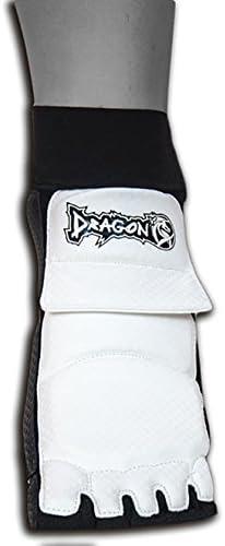 Lecaf Taekwondo Foot Protector Gear Guard Martial Arts Protector Sparring Gear