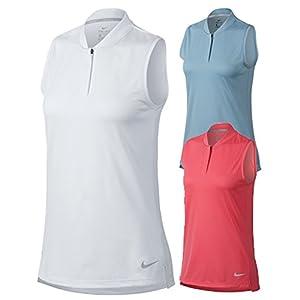 NIKE Dri Fit Sleeveless Blade Collar Golf Polo 2018 Women