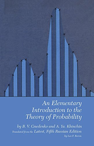 An Elementary Introduction to the Theory of Probability (Dover Books on Mathematics)
