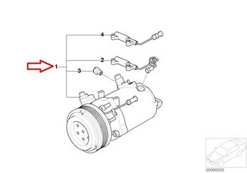 Amazon.com: BMW OEM A C Compressor with Clutch E46 64 52 6 911 340 320i 323Ci 323i 325Ci 325i 325xi 328Ci 328i 330Ci 330i 330xi M3: Automotive