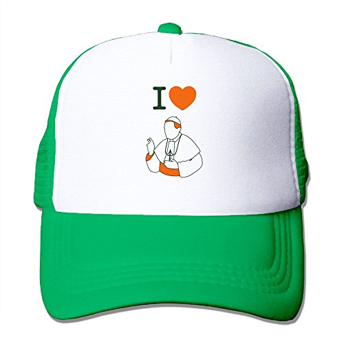 I Love The Catholic Church Pope Men Women Baseball Cap Anchor Sun Outdoor Sport Snapback Hat