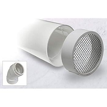 """vent cap 2 pcs: 3/"""" INCH PVC PROVENT VENT GUARD pipe bird screen"""