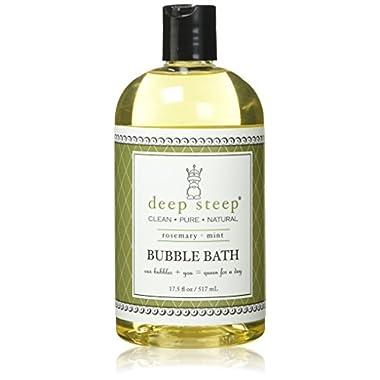 Deep Steep Rosemary Mint Bubble Bath - 17 Fluid Ounces