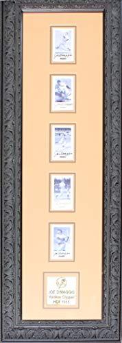 - Joe DiMaggio Autographed Framed Pinnacle Card Set