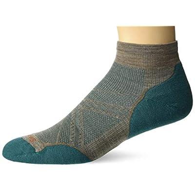 Smartwool Men's PhD Mini Socks - Outdoor, Ultra Lightly Cushioned Merino Wool Performance Socks: Sports & Outdoors