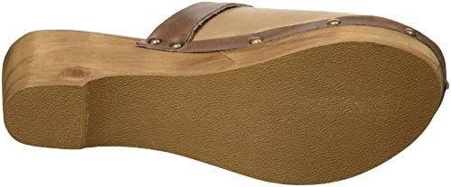 Musse & Cloud Womens Evita Clog Marrone Scuro