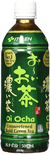 Ito En Oi Ocha Unsweetened Bold Green Tea, 16.9 Fluid Ounce (Pack of 12)