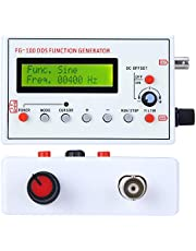 FG‑100 DDS Signal Generator Counter, High Precision DDS Function Generator Sine Frequency 1HZ‑500KHz Signal Source Meter