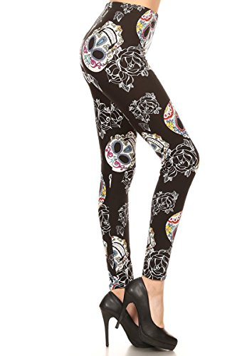 R848-PLUS Beautiful Huntress Print Fashion Leggings
