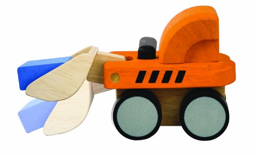 Knob Bulldozer (PlanToys Mini Bulldozer)