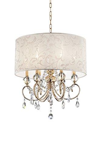 "OK Lighting OK-5155H 24.5"" H Aurora Ceiling LAMP"
