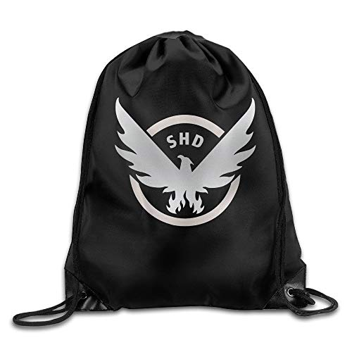 COOLGO Tom Clancy The Division Drawstring Backpack Bag