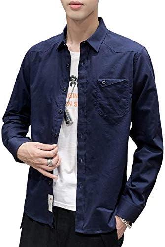 シャツ メンズ カジュアルシャツ 長袖 オックスフォードシャツ ボタンダウン クールビズ 開襟シャツ 爽やか シンプル 吸汗速乾 汗染み防止 柔らかい 無地 細身 おしゃれ 春夏