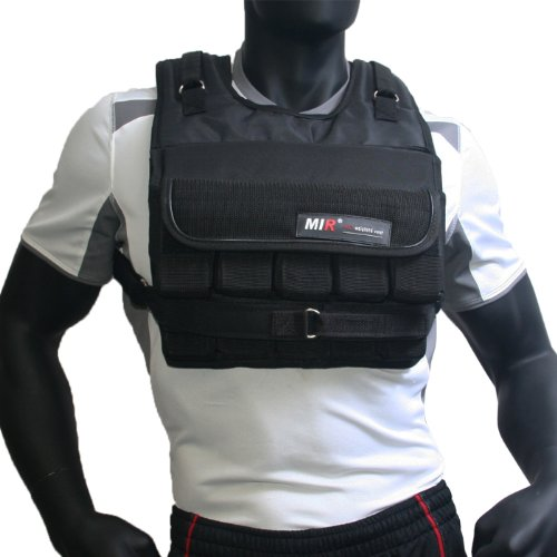 MIR® - 90LBS (SHORT PLUS) ADJUSTABLE WEIGHTED VEST by MiR Weighted Vest