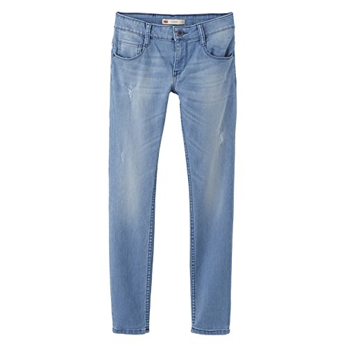 Levi's Nj22607, Vaqueros para Niñas Azul (Dutch Blue)