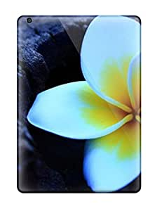 For Ipad Case, High Quality Frangipani Flowerss For Ipad Air Cover Cases