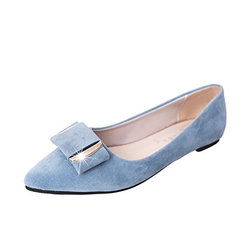 167 Ballerine Welldone2017 blau Donna Sconosciuto Ballerinas HqFWIqxO