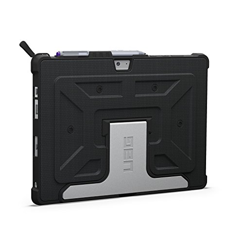 UAG Microsoft Surface 3 Feather-Light Composite [Black] Aluminum Stand Military Drop Tested Case (Gear Case Main)